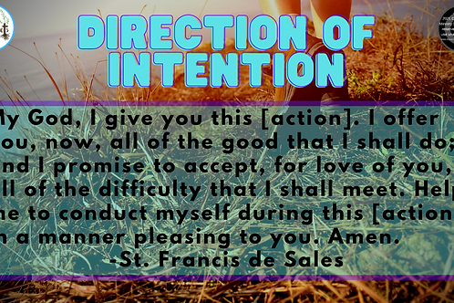 Direction of Intention (free digital download)