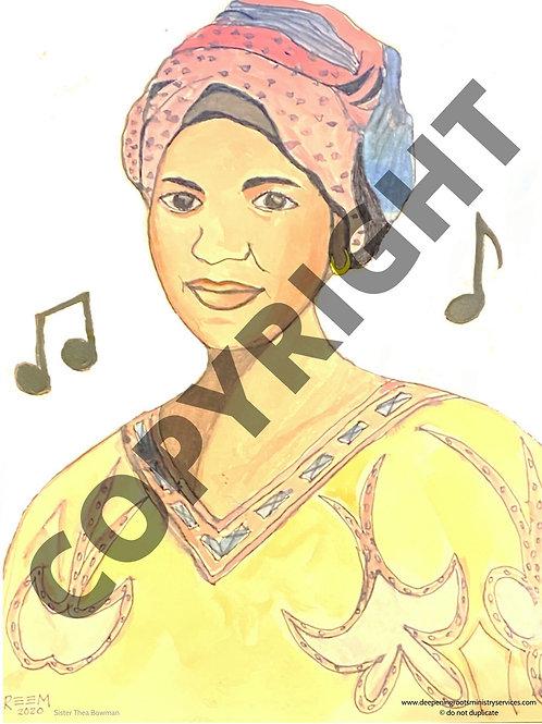 Poster Print - Sister Thea Bowman