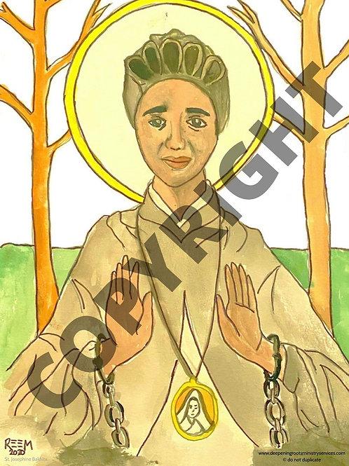 Poster Print - St. Josephine Bakhita