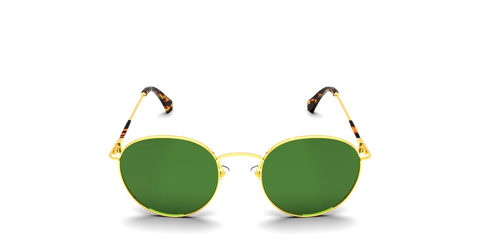 FRESH GOLD | TORTOISE & GSG9 GREEN LENS