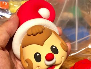 クリスマスを粘土で!