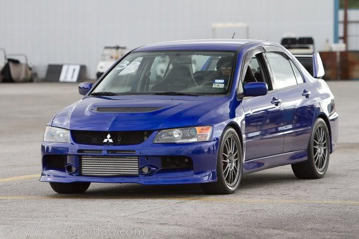 6 Mitsubishi evo 9