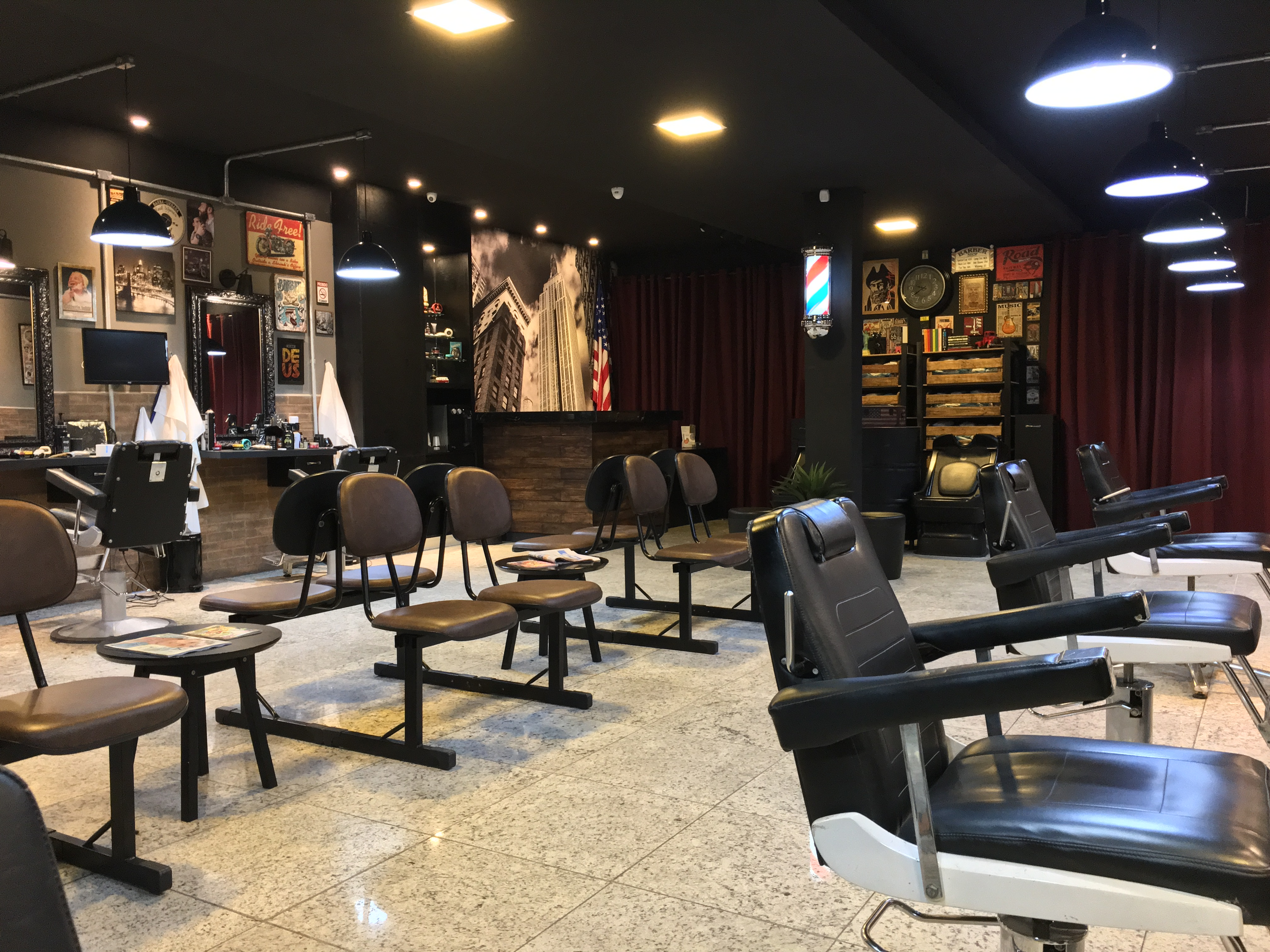 American Barbershop Interior 02