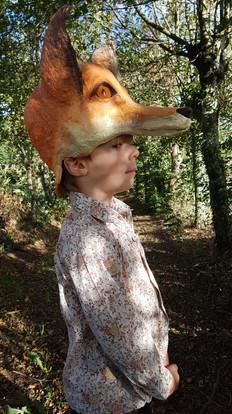 Coiffe de renard