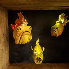 Les poissons lampes