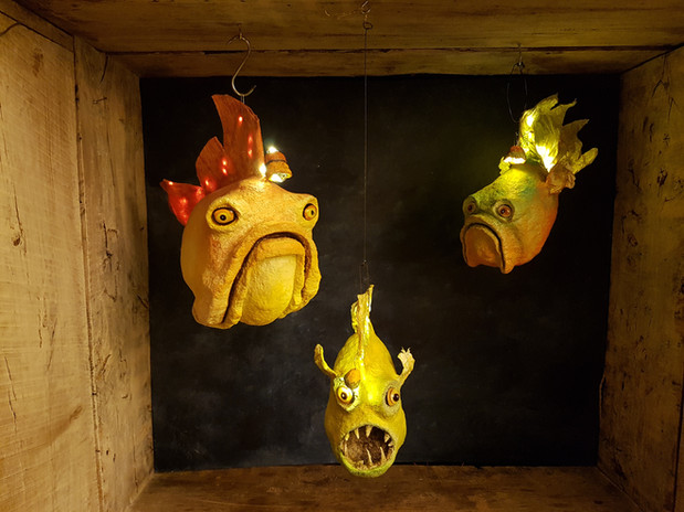 Poissons lampes