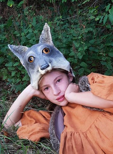 Coiffe de loup