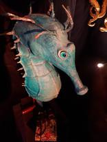 Hippocampe bleu