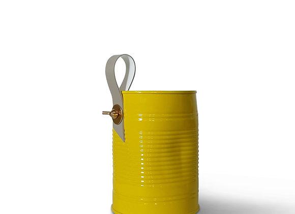 """פחית ממוחזרת צהוב גובה 103 מ""""מ"""