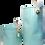 "Thumbnail: פחית טורכיז ממוחזרת גובה 86 מ""מ"