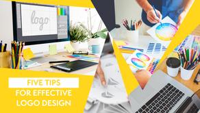 5 Tips For  Effective Logo Design