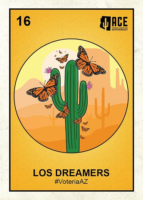 Los Dreamers Sticker