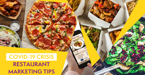10 Marketing Tips to Help Your Restaurant Cope with CV19 Crisis