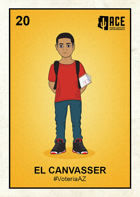 El Canvasser Sticker