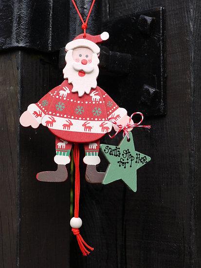 Pully Santa
