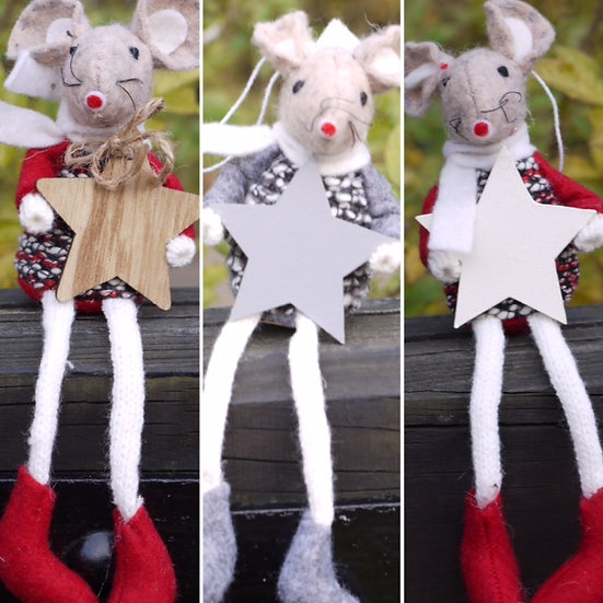 Sitting Mice (Dangly Legs)