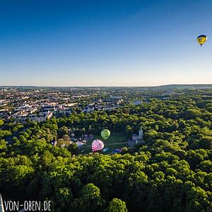 Ballonfest im Küchwald