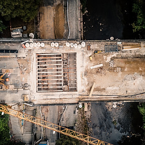 Baustelle Kaßbergauffahrt