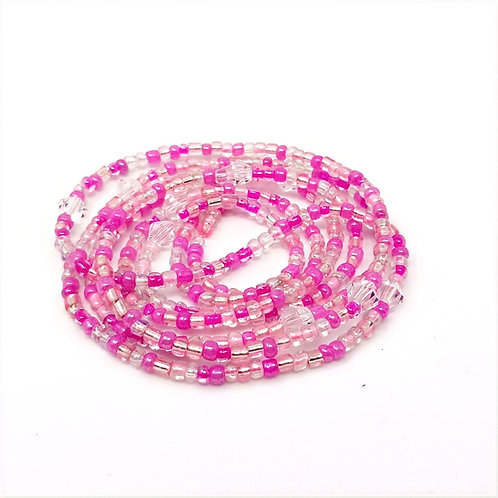 Pink Passion Waist Beads