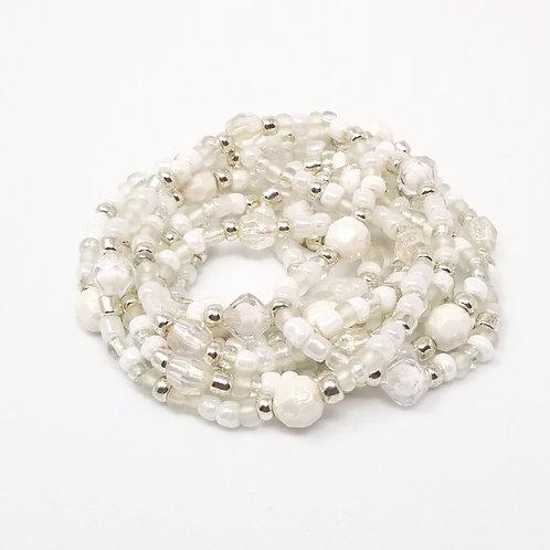 Snowfall Waist Beads