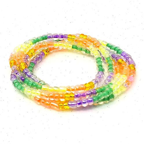 Pastel Passion Waist Beads