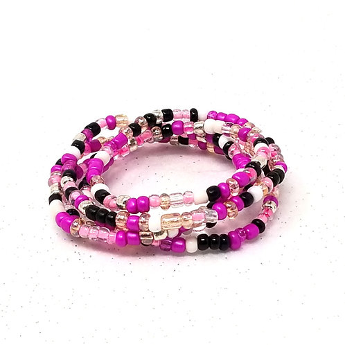 Fuchsia Fury Waist Beads