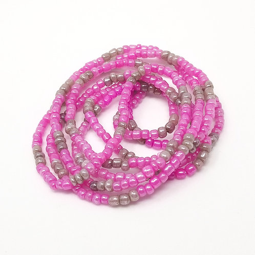 Pink Dreams Waist Beads