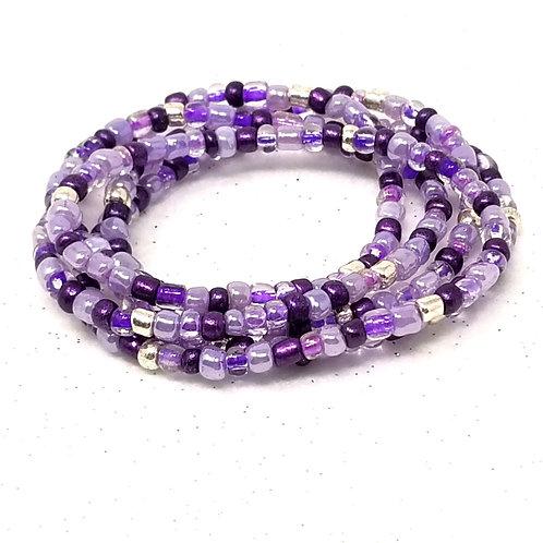 Purple Pleasure Waist Beads