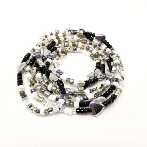 Shining Hearts Waist Beads