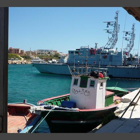 Refugee Week blog on T06411 migrant boat
