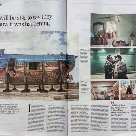 The Observer article on Sink Without Trace