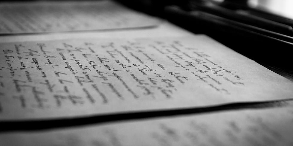 Atelier d'écriture avec Myriam