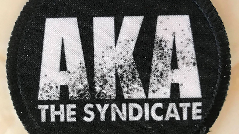 Black Logo Patch