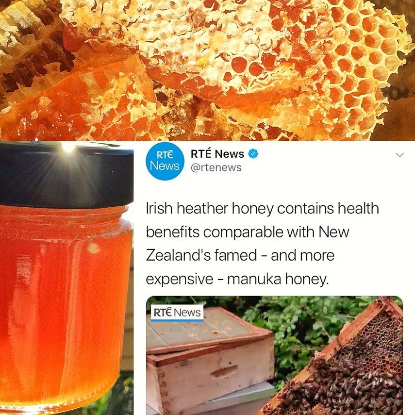 Irish Heather Honey in the news