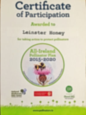 All ireland Pollinator Plan Certificatio