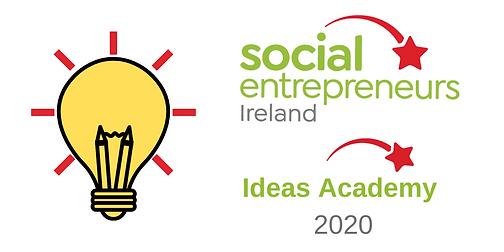 Ideas Academy launch graphic rectangular