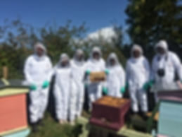 Introductory Beekeeping students.JPG