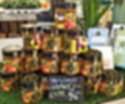 Display of Local Dublin Honey
