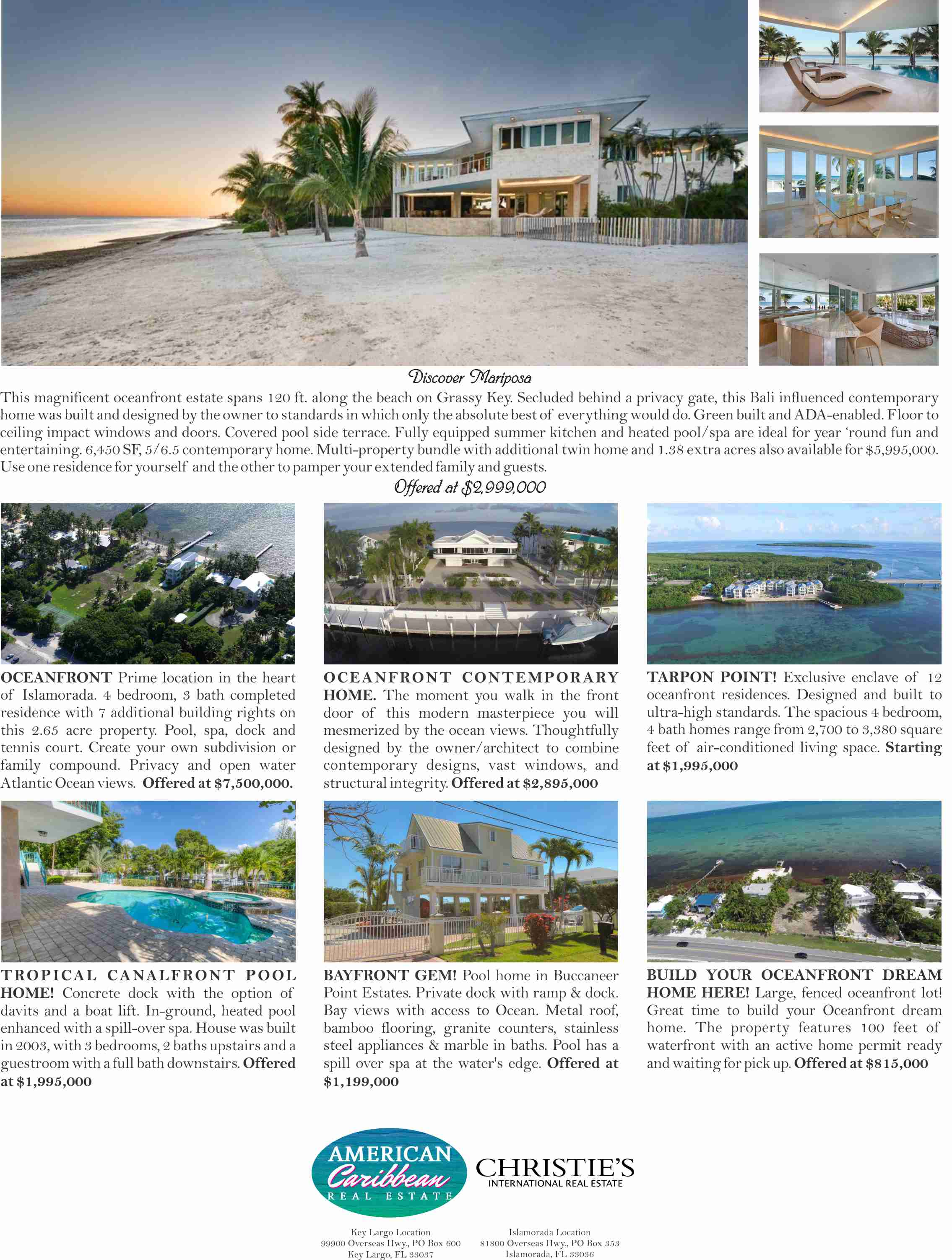 Estates and Homes of the Florida Key