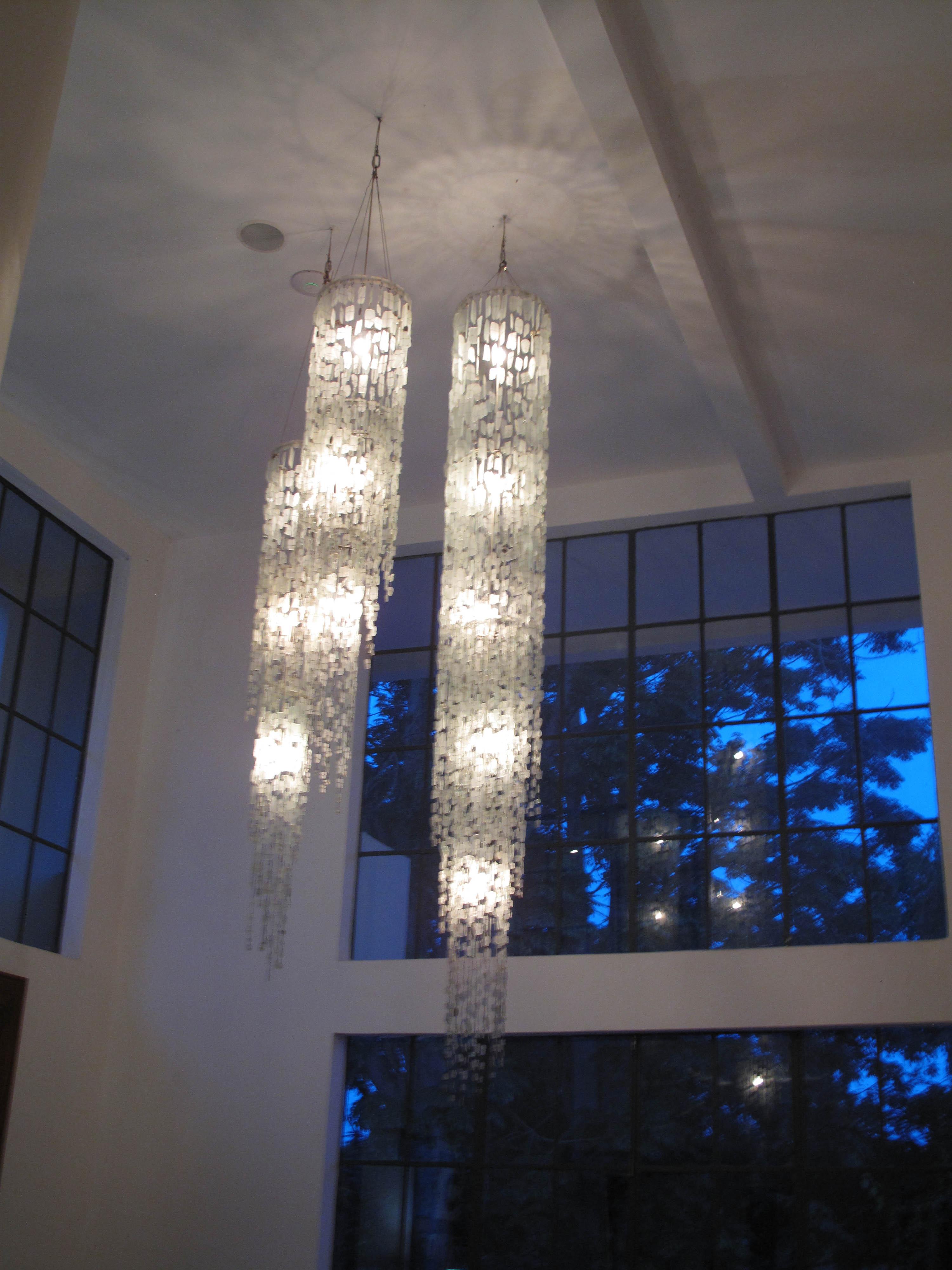 statement piece tumbled glass pendant latitude interiors