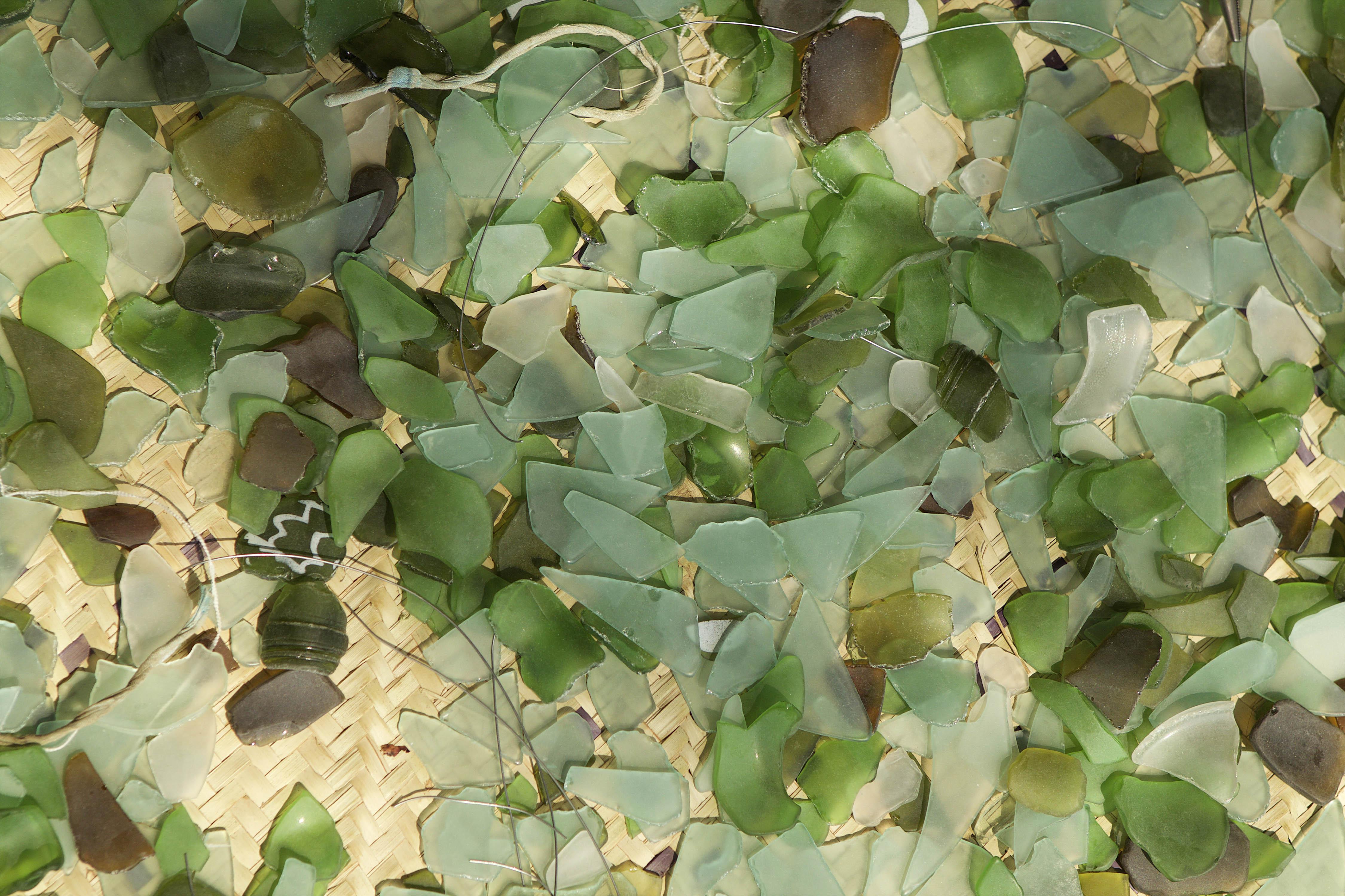 sustainable materials katundu likoma tumbled glass