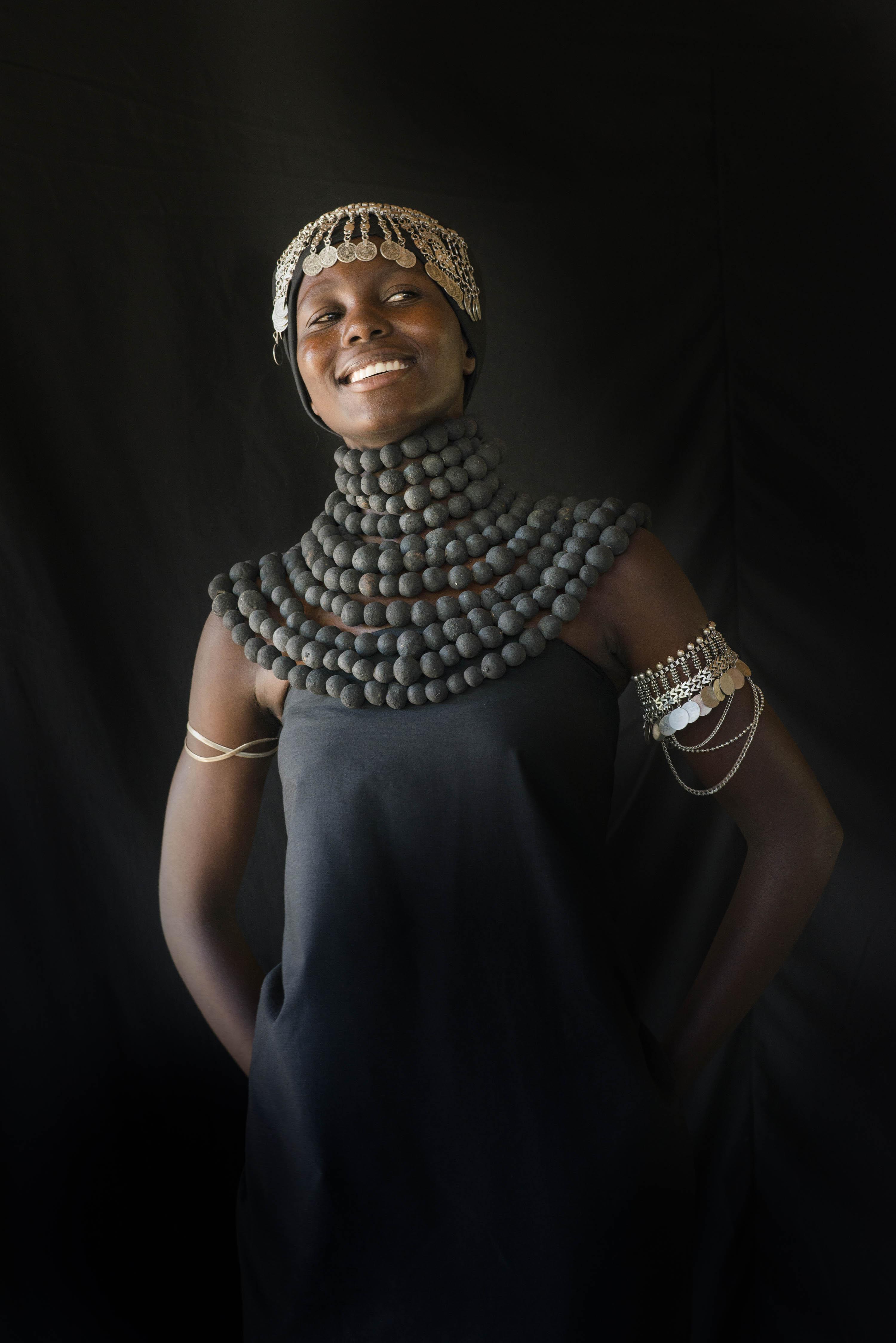 katundu fashion clay beads brass trade beads