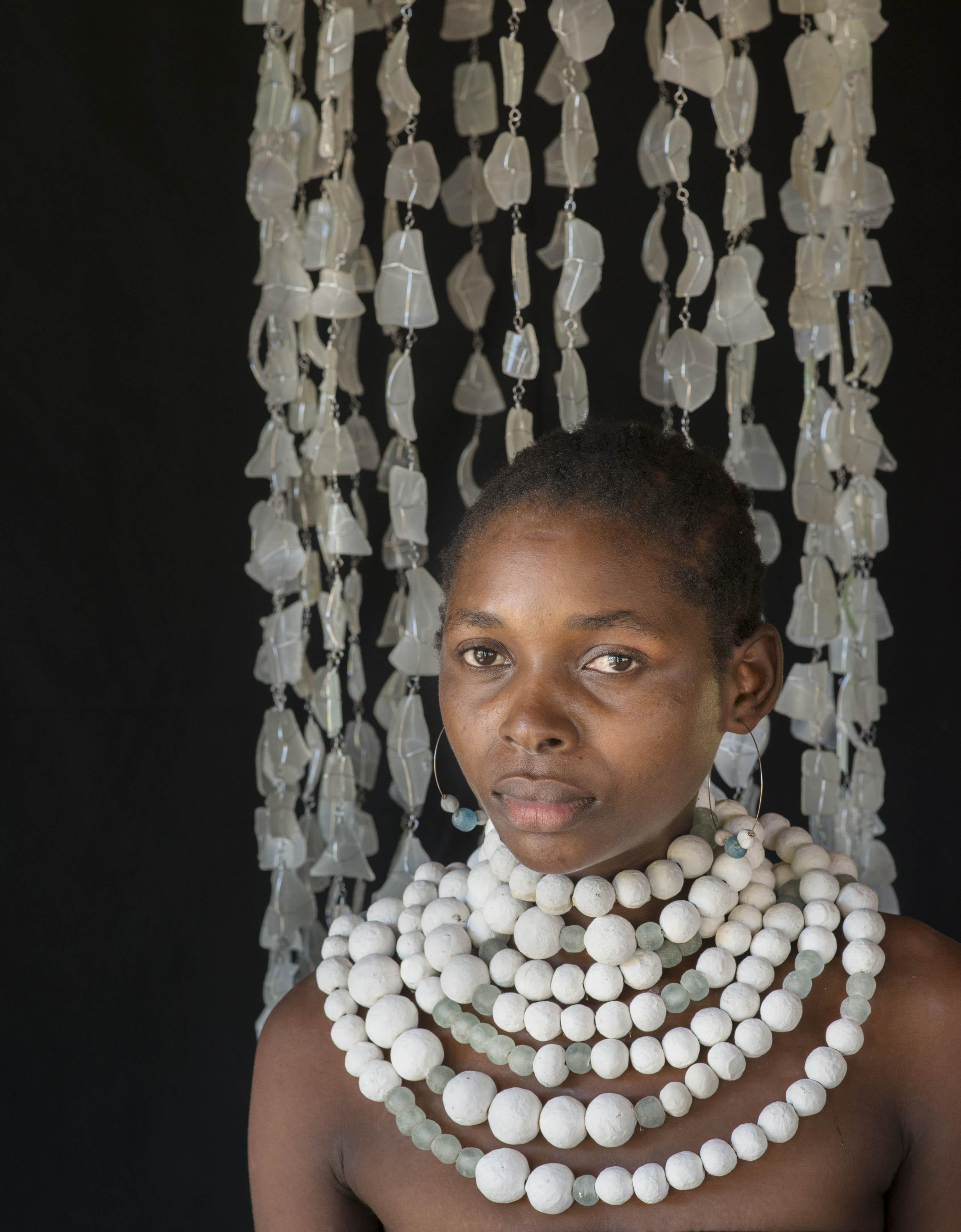 katundu fashion clay beads tumbled glass