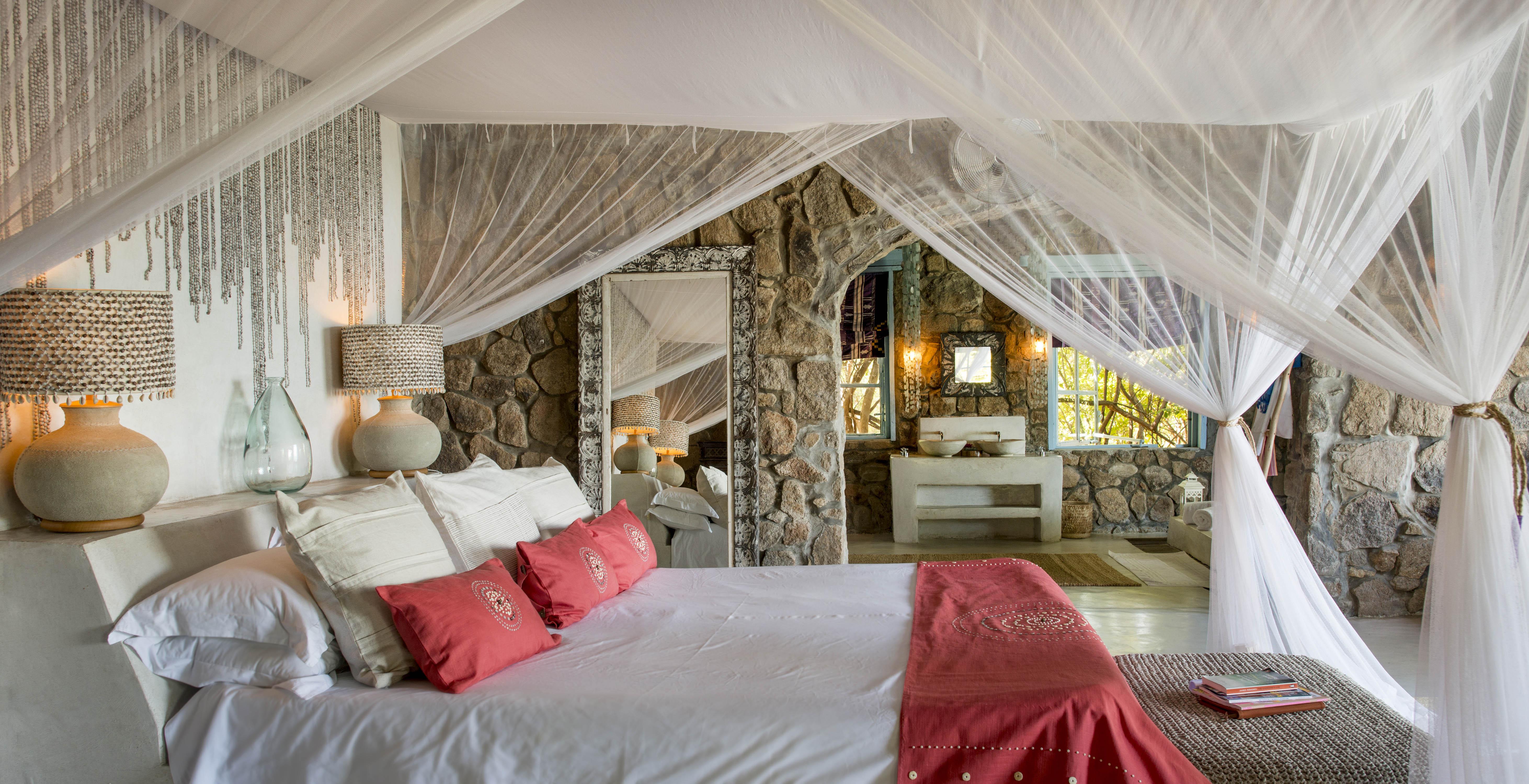 kaya mawa interiors beaded textiles bedthrow