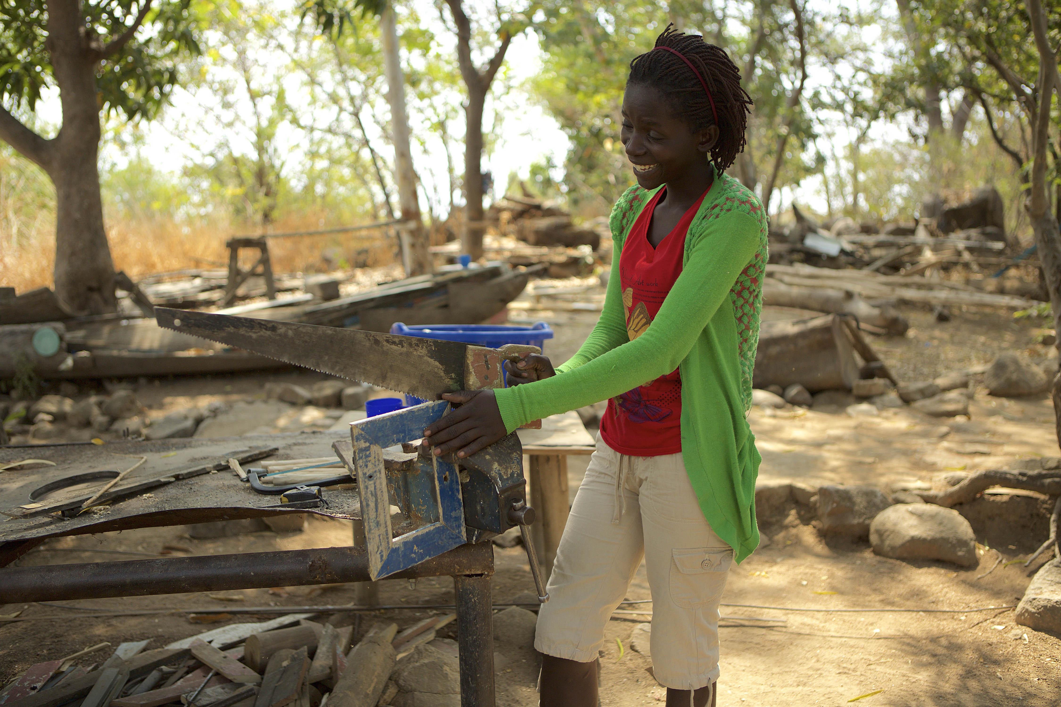 woman empowerment - faith carpentry