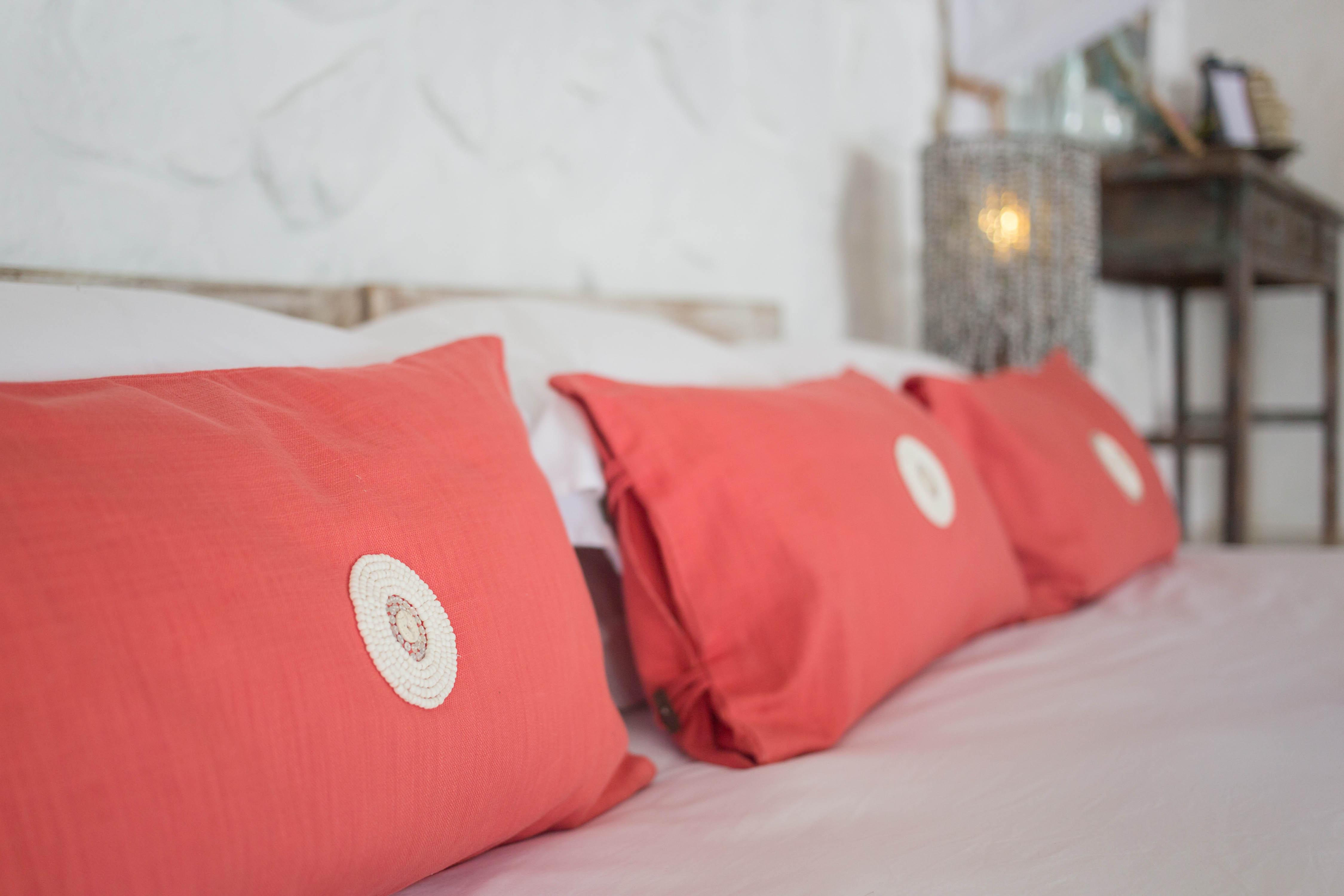 massai handbeaded cushion covers kaya mawa