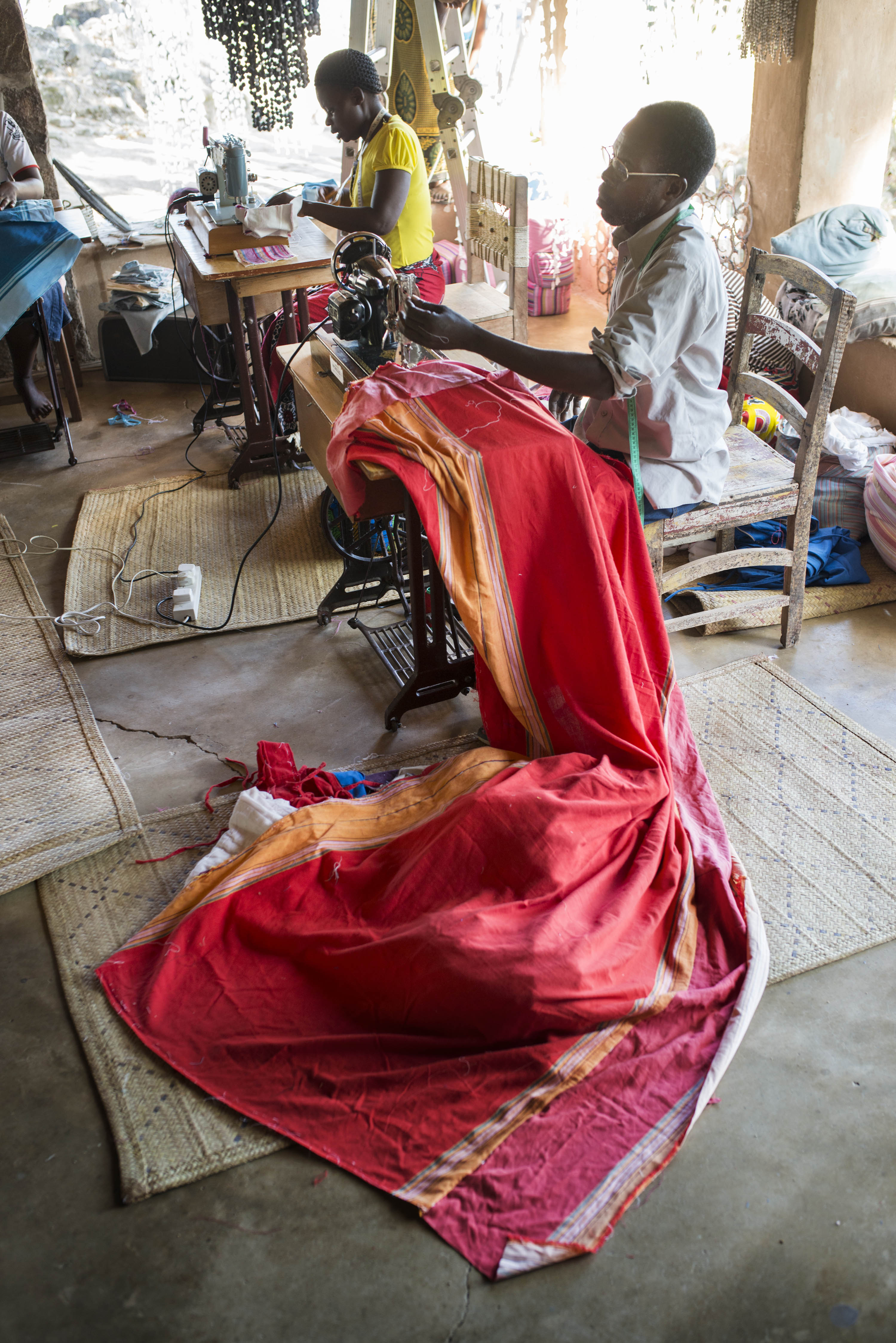 handsown kikoy fabrics textiles
