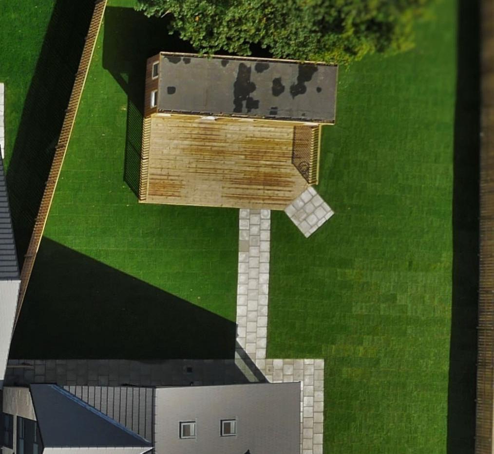 The Corbridge - Rear Garden