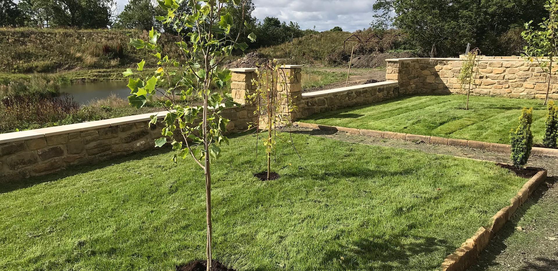 The Farmhouse - Front garden
