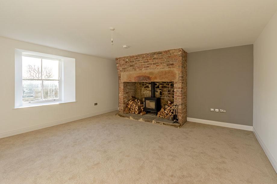 The Farmhouse - Living Room
